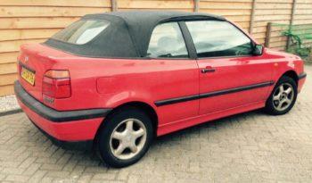 Golf 3 Cabrio 1997 vol