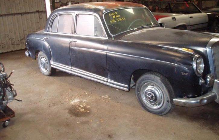 Mercedes 220S 1955 vol