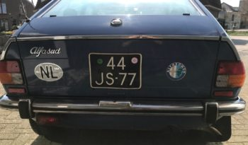 AlfaSud 12N 1976 vol