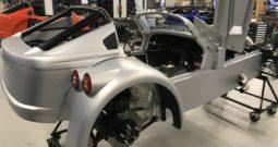 Donkervoort D8 GTO 40 spuitwerk voor de Fabriek